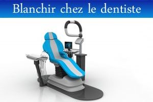 Blanchiment chez le dentiste