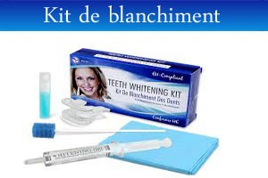 kit blanchiment des dents